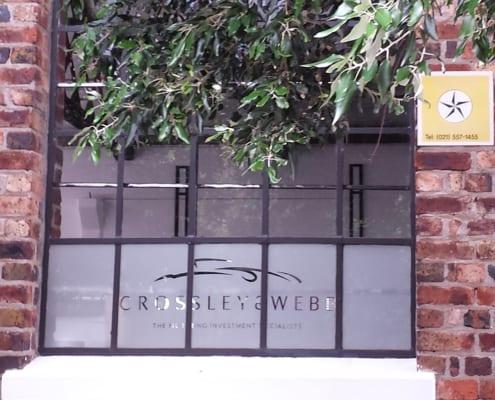 Crossley & Webb - Showroom - Metal Windows - Outside View