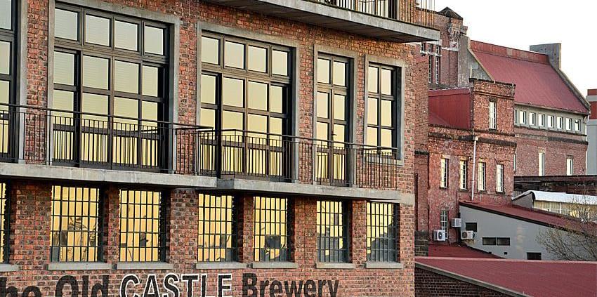 Metal Windows - Hero Castle Brewery - Outside Windows View