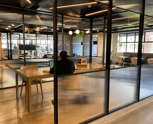 NEW FORMAN BRAND SYSTEM BY METAL WINDOWS - Office View