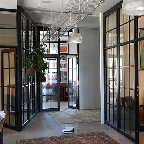 Aluminium Window Partions Offices Sq500