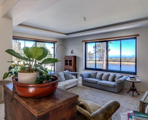 Metal Windows - House Henley - Lounge View