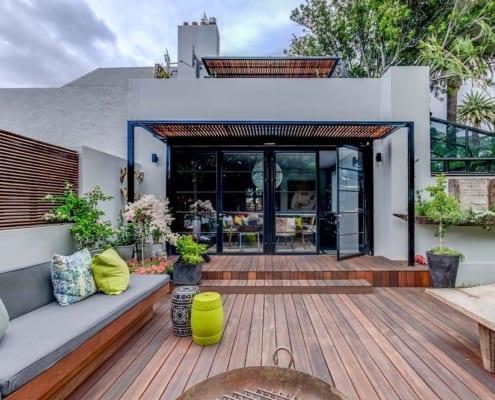 House Tomlin - Metal Windows - Outside View