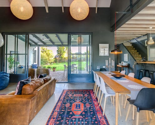 Enkeldoord - Greyton Home - Metal Windows - Indoors - Indoors - Lounge