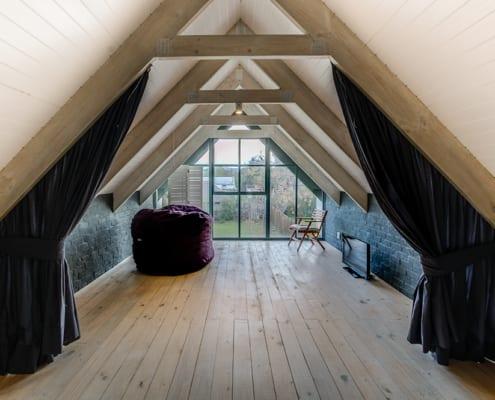 Enkeldoord - Greyton Home - Metal Windows - Inside View