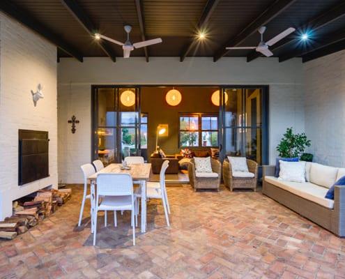 Enkeldoord - Greyton Home - Metal Windows - Lounge Windows
