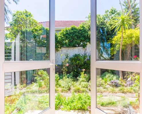 House Biess - Metal Windows - Kitchen Window View