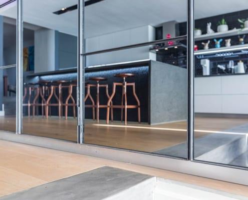 House Nel - Metal Windows - Kitchen Door and Kitchen Windows