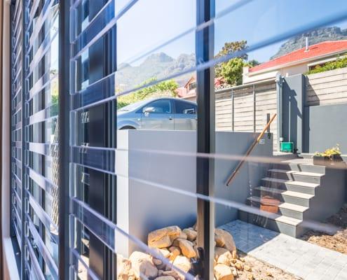 Jacqui Biess Home Residential - Metal Windows - Sitting Room Art