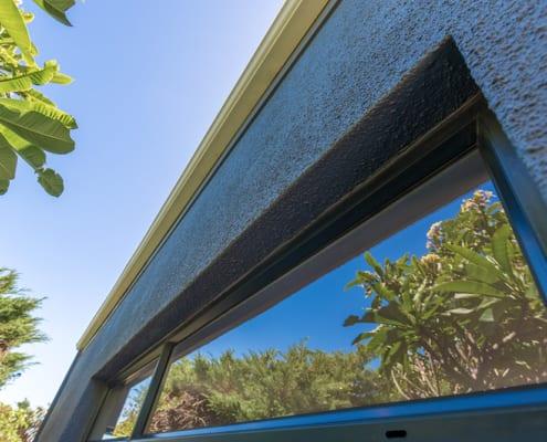 Jacqui Biess House - Metal Windows - Window View