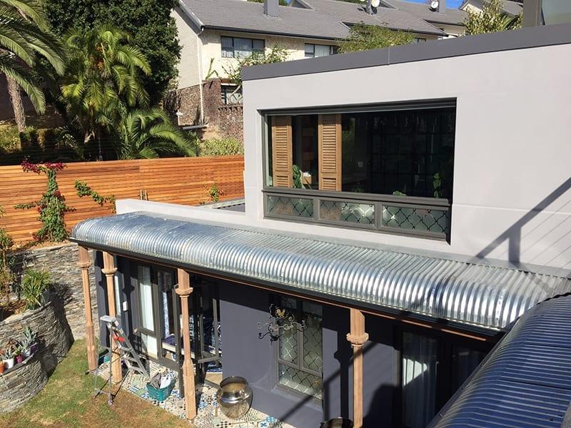 Tamboerskoof-Family-Home-Aluminium-Back-of-home