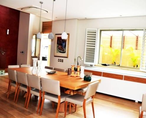 House Albeldas - Dining Room - Metal Windows
