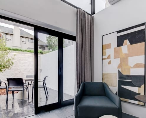 House Sedgemoore Rd - Metal Windows - Living Room - Aluminium Doors - Bedroom
