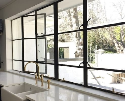 House Zabow - Metal Windows - Kitchen