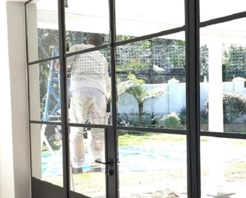 House Zabow - Metal Windows - Sitting Room - Painting
