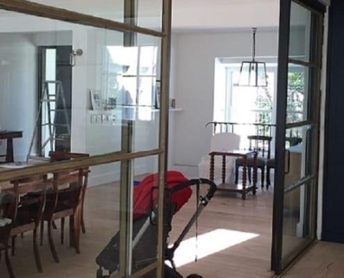 House Zabow - Metal Windows - Sitting Room