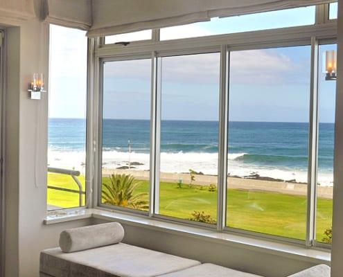 House Borstrock - Metal Windows - Lounge Beach - View