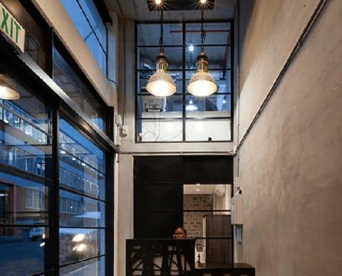 Iron Works - Interior - Metal Windows