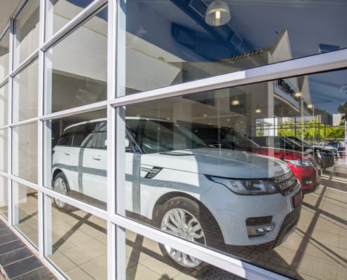 Land Rover - Metal Windows - Showroom
