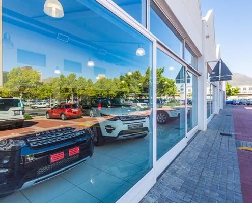 Land Rover - Showroom - Cars - Metal Windows