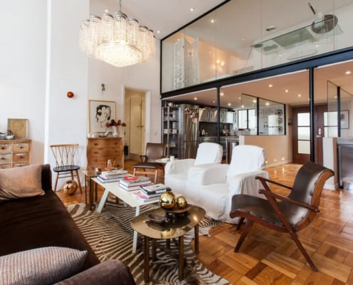 Mutual Heights - Old Mutual - Interior View - Couch