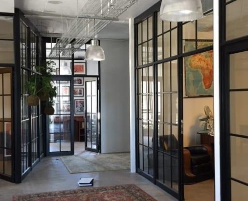 Metal Windows - Claremont Office