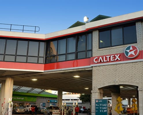 Caltex V&A Waterfront - Metal Windows - Outside View - Garage