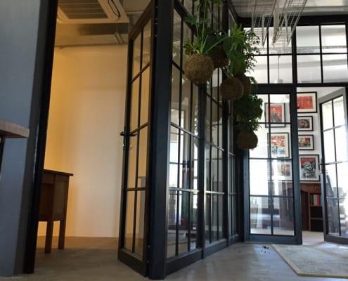 Claremont Office - Metal Windows - Inside Door