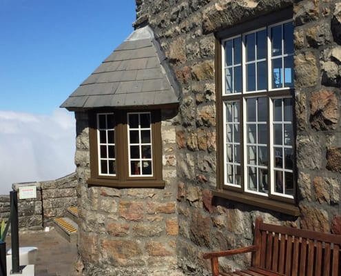Metal Windows - Table Mountain Heritage - Outside View