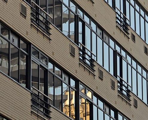 No4 Loop Street - Metal Windows - Outside View