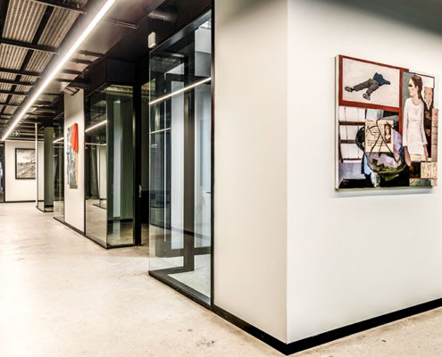 Roamwork private offices - Metal Windows