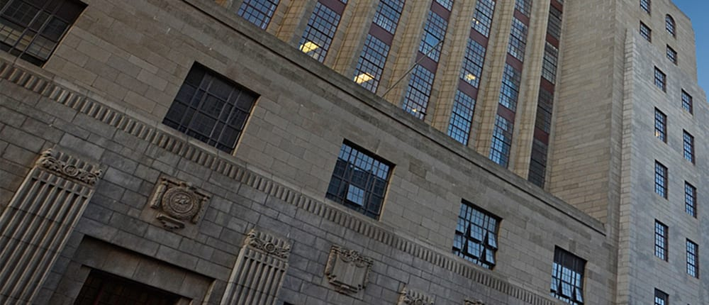 The General Post Office Building - Metal Windows