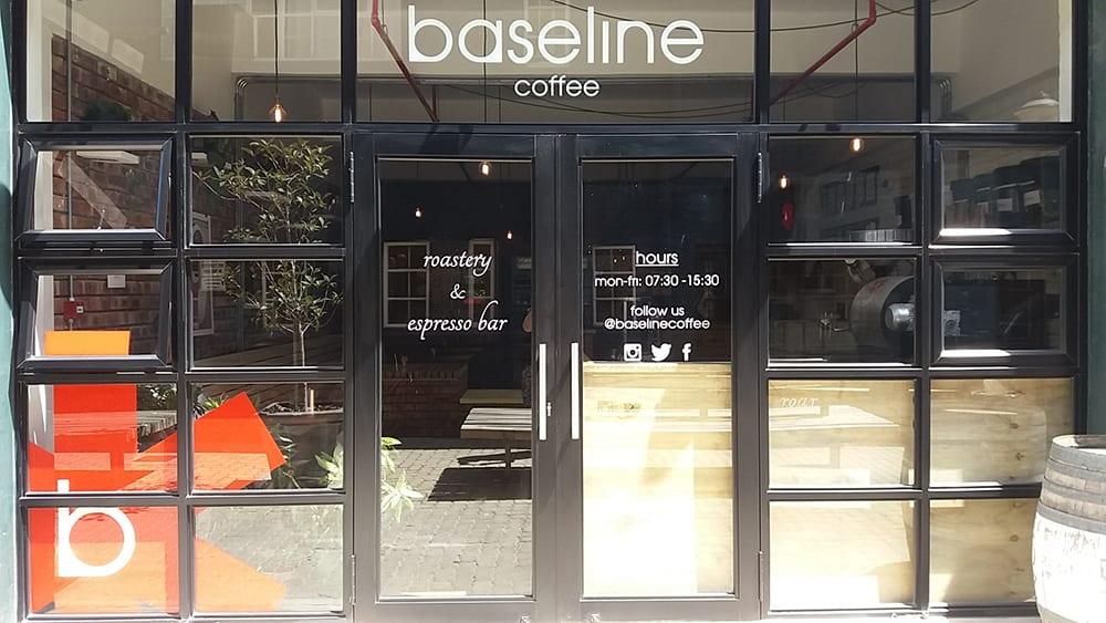 Baseline coffee - aluminium doors - Metal windows