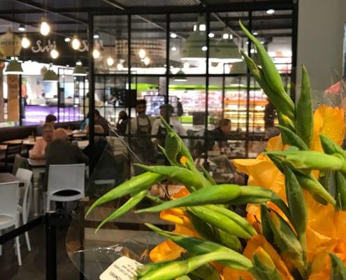 Knead bakery in PnP Constantia - Metal Windows