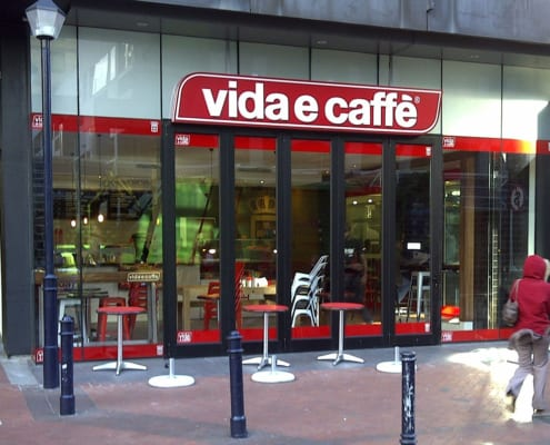 Vidae Caffe - Metal Windows - Aluminium Windows