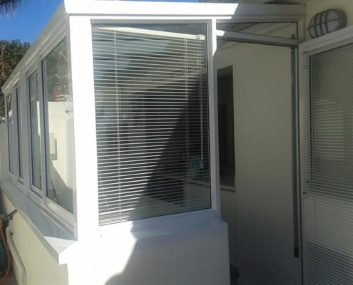 House Lipmen - Kitchen View - Metal Windows