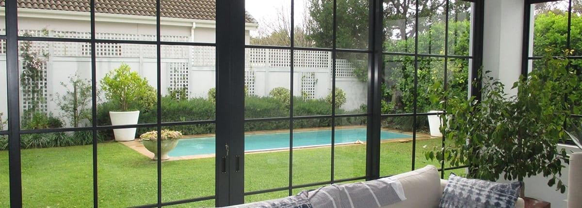 silvertree estate constantia - aluminium - metal windows