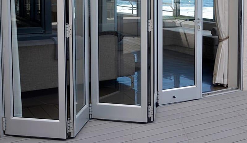 Aluminium Doors - Metal Windows - House Entrance