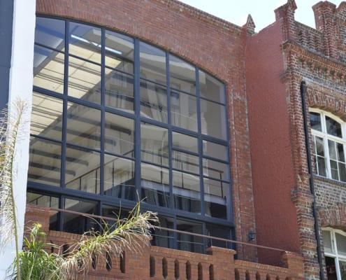 Anatoli Turkish Restaurant - Outside View - Metal Windows - Aluminium Windows