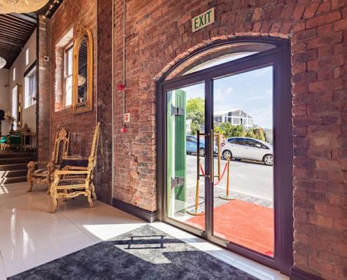Signature Luxe Hotel - Metal Windows - Main Entrance - Aluminium Windows
