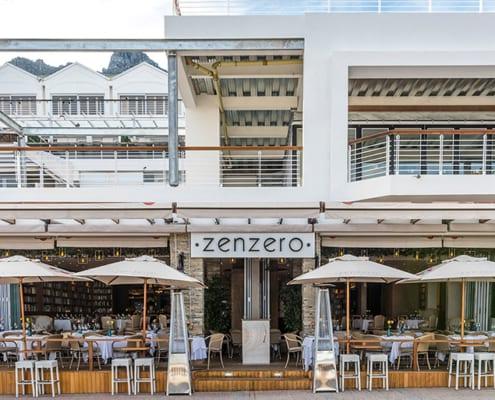 Zenzero Restaurant - Aluminium windows - Metal Windows