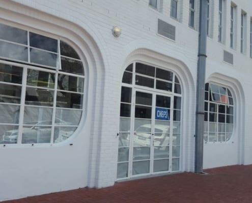 Chefs Restaurant - Steel Windows - Metal Windows - Entrance
