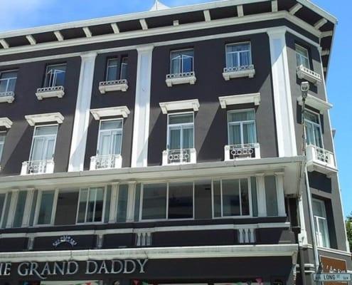 Grand Daddy Hotel - Metal Windows - Exterior