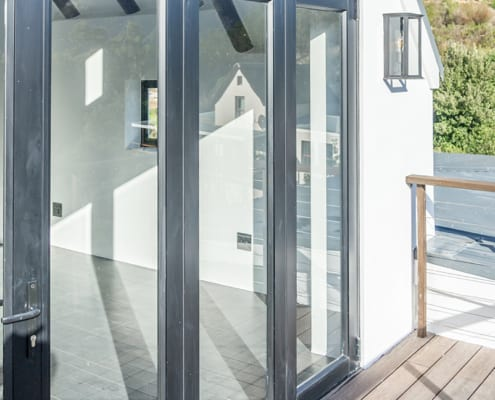 Silver Mist Estate - Metal Windows - Main Entrane