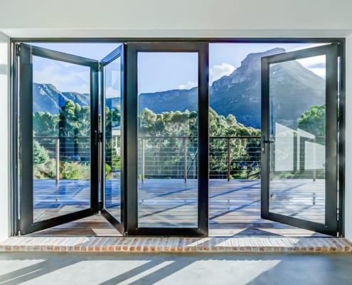 Silver Mist Estate - Metal Windows - Main Entrane View