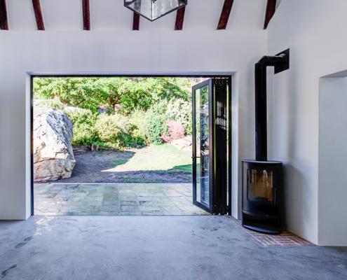 Silver Mist Estate - Metal Windows - Opened Door