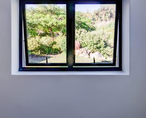 Silver Mist Estate - Metal Windows - Opened Windows