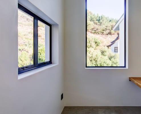 Silver Mist Estate - Metal Windows - Single Door