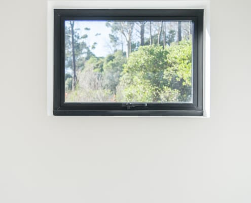 Silver Mist Estate - Metl Windows - White Wall and window view