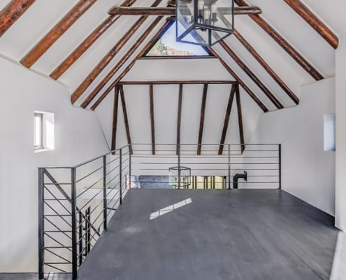 Silver Mist Estate - Roof Top - Metal Windows
