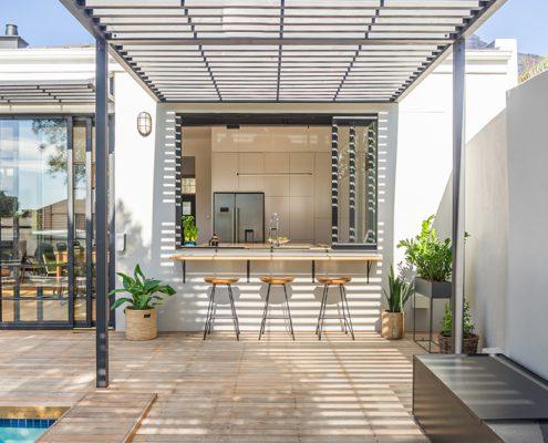 Balfour House - Metal Windows - Kitchen window after
